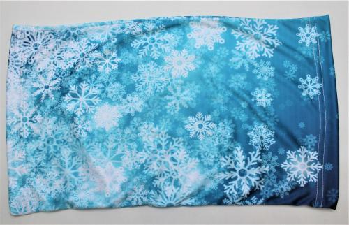 Nákrèník - zima - modrý