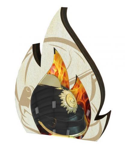 Plaketa - hasièi - WPP0010M06 + vlastní text - zvìtšit obrázek